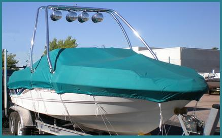 Boat Cover Teal
